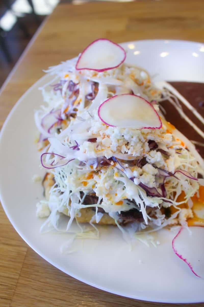 tacos from Oteo restaurant