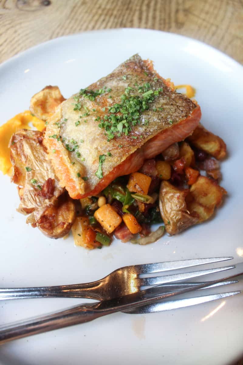 salmon from The Foundry Grill