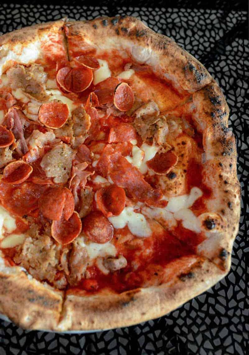 pizza from La Piazza Al Forno