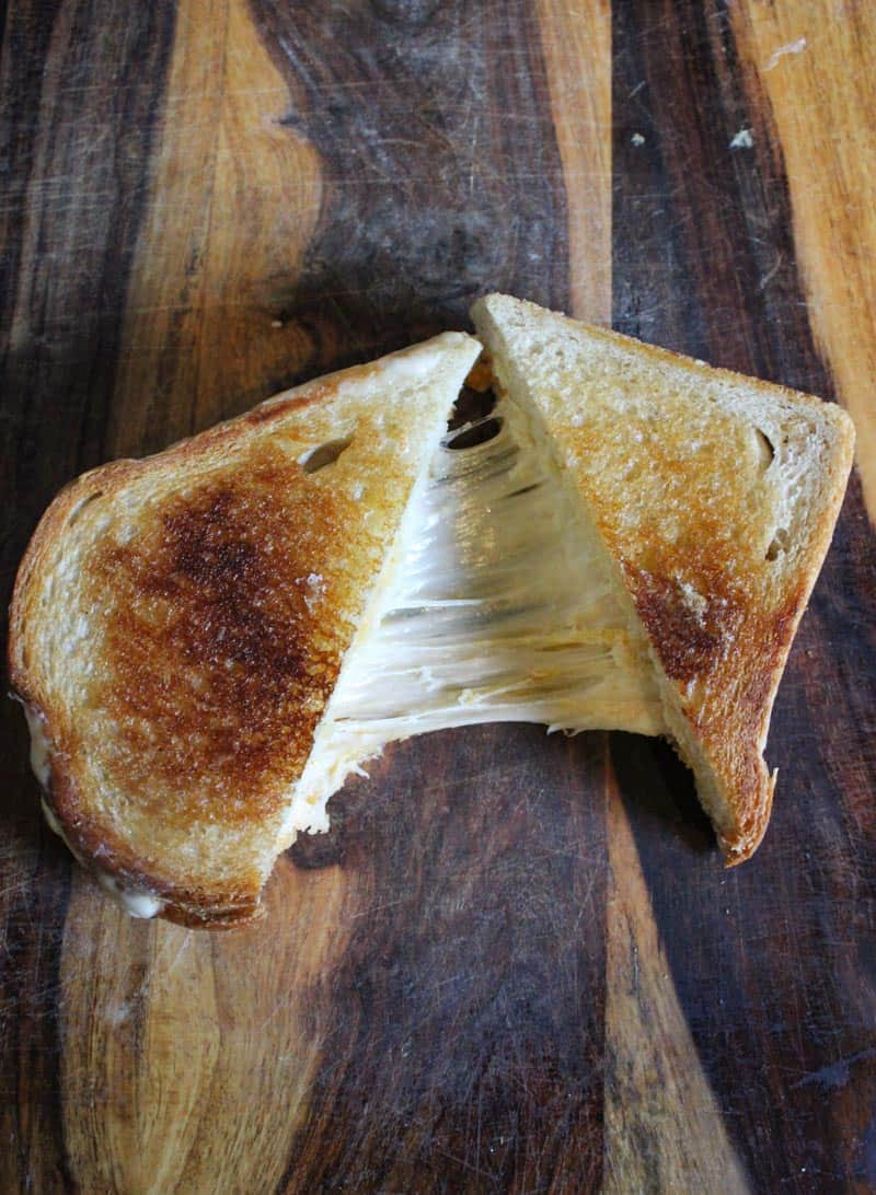 grilled cheese from Murray's Cheese