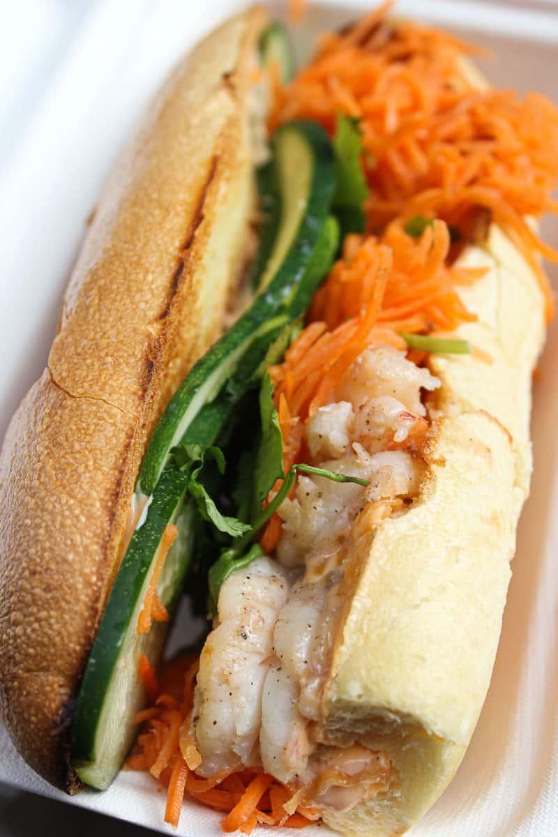 sandwich from Num Pang Kitchen