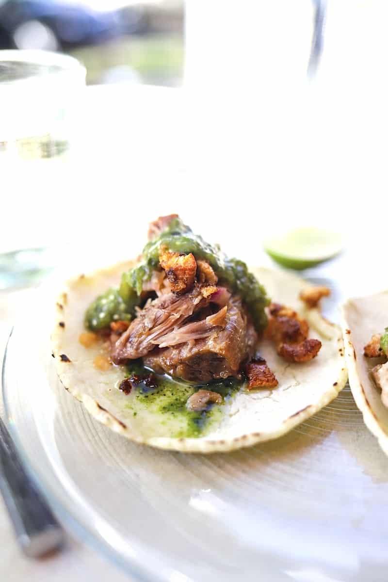 carnitas tacos from Lola
