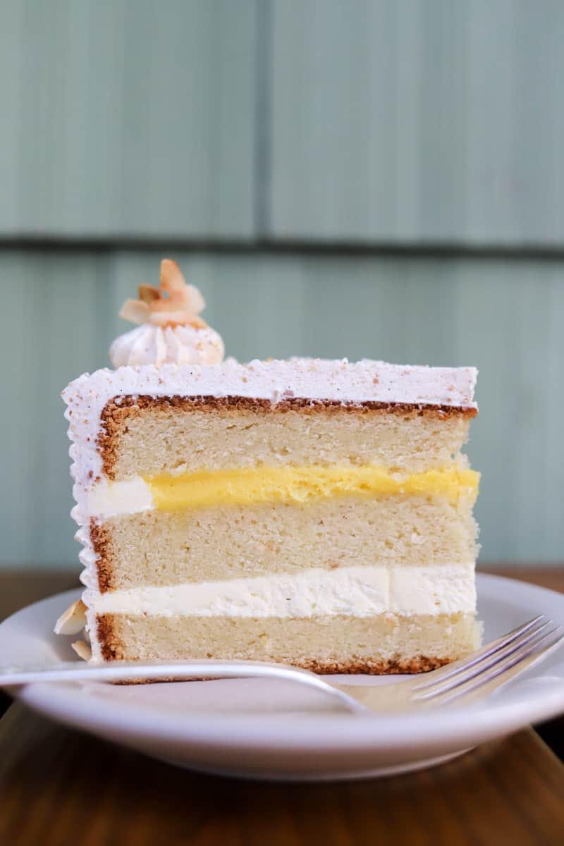 slice of cake from Milk Glass Mrkt in Portland