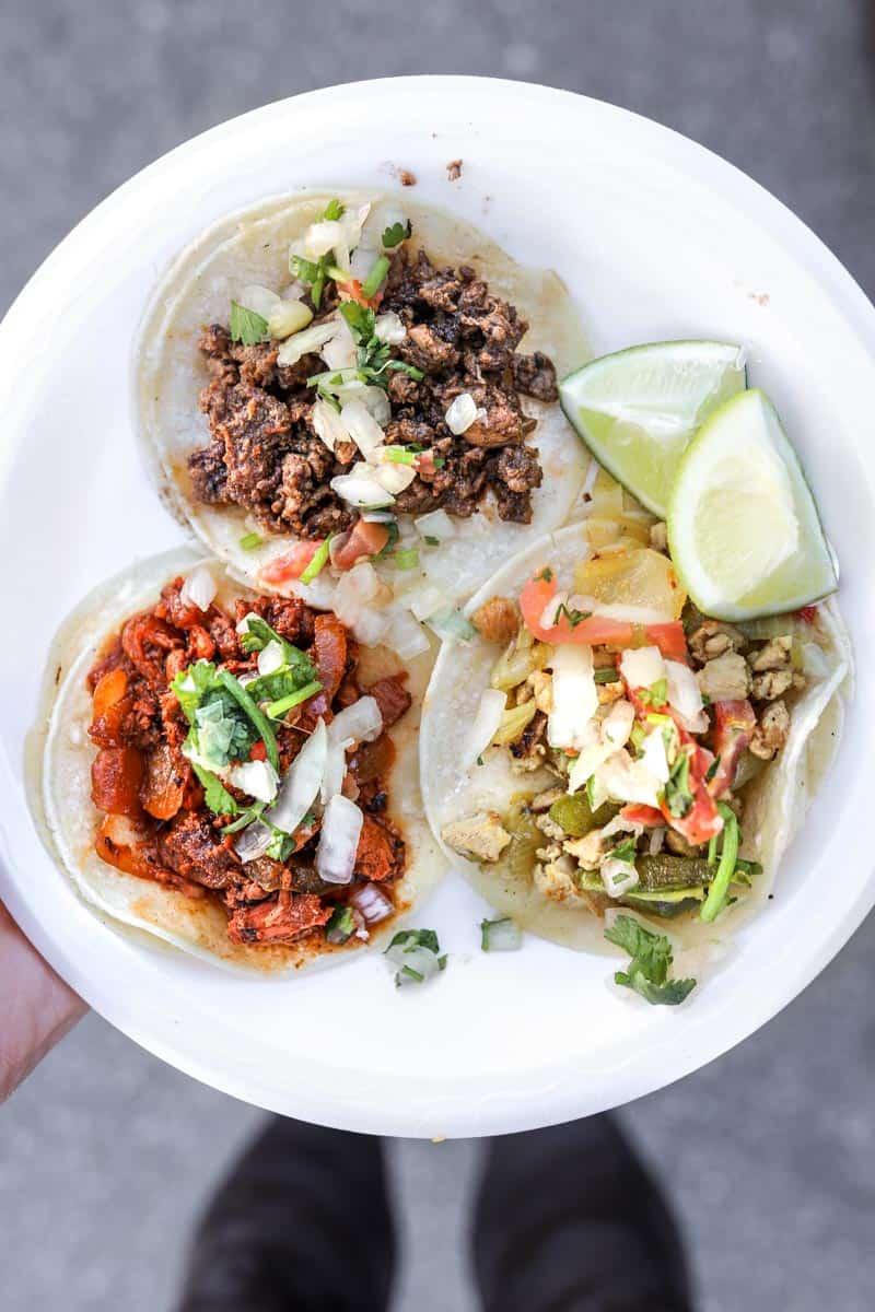 street tacos from Tacos Don Rafa