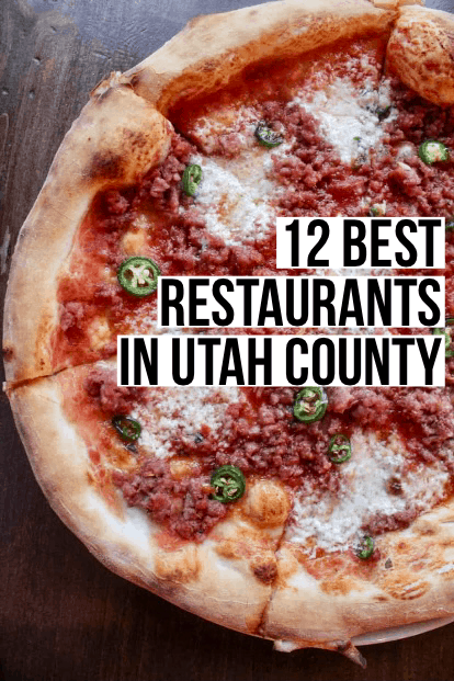 A guide to the best Provo restaurants and surrounding Utah County including a bonus list of best dessert spots!